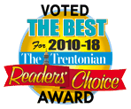 Trentonian Reader's Choice Award Roofing