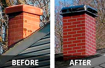 metal chimney replacement